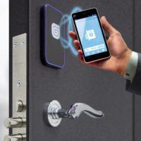 Электромеханический замок NFC на входную дверь